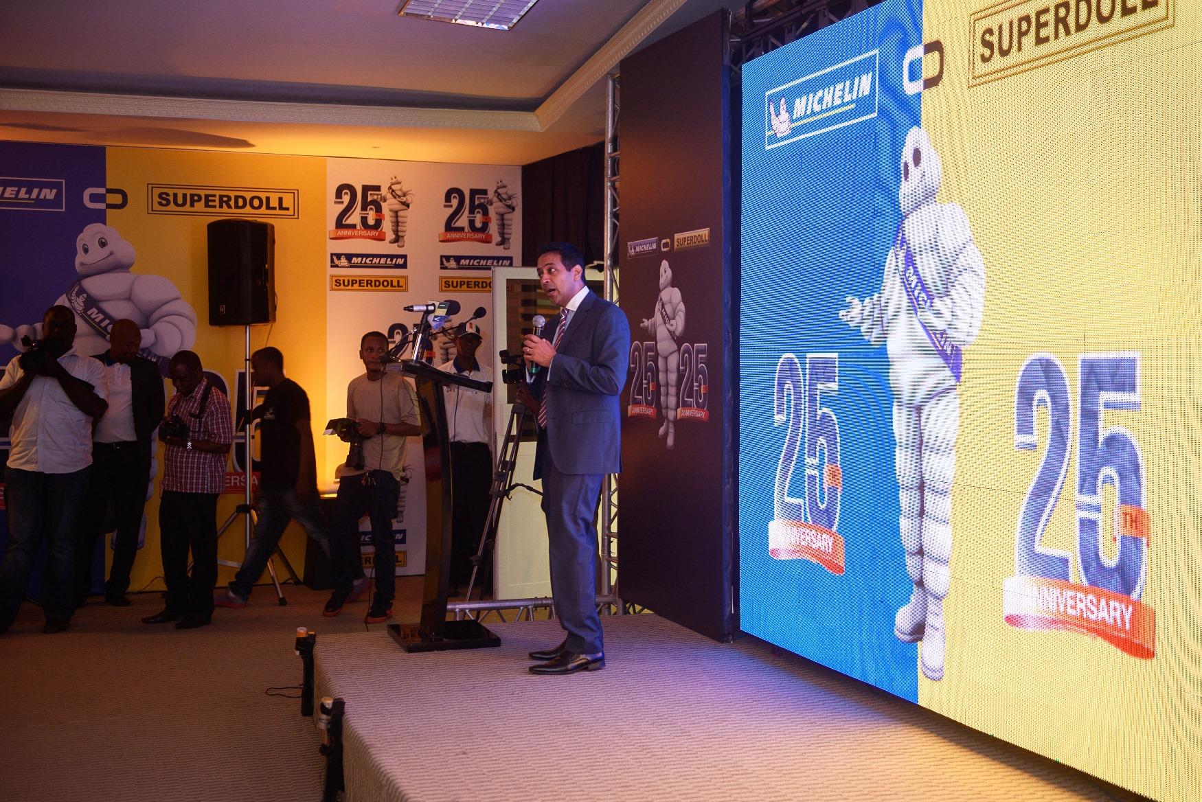 Tehsin Takim Master of Ceremony Michelin Superdoll